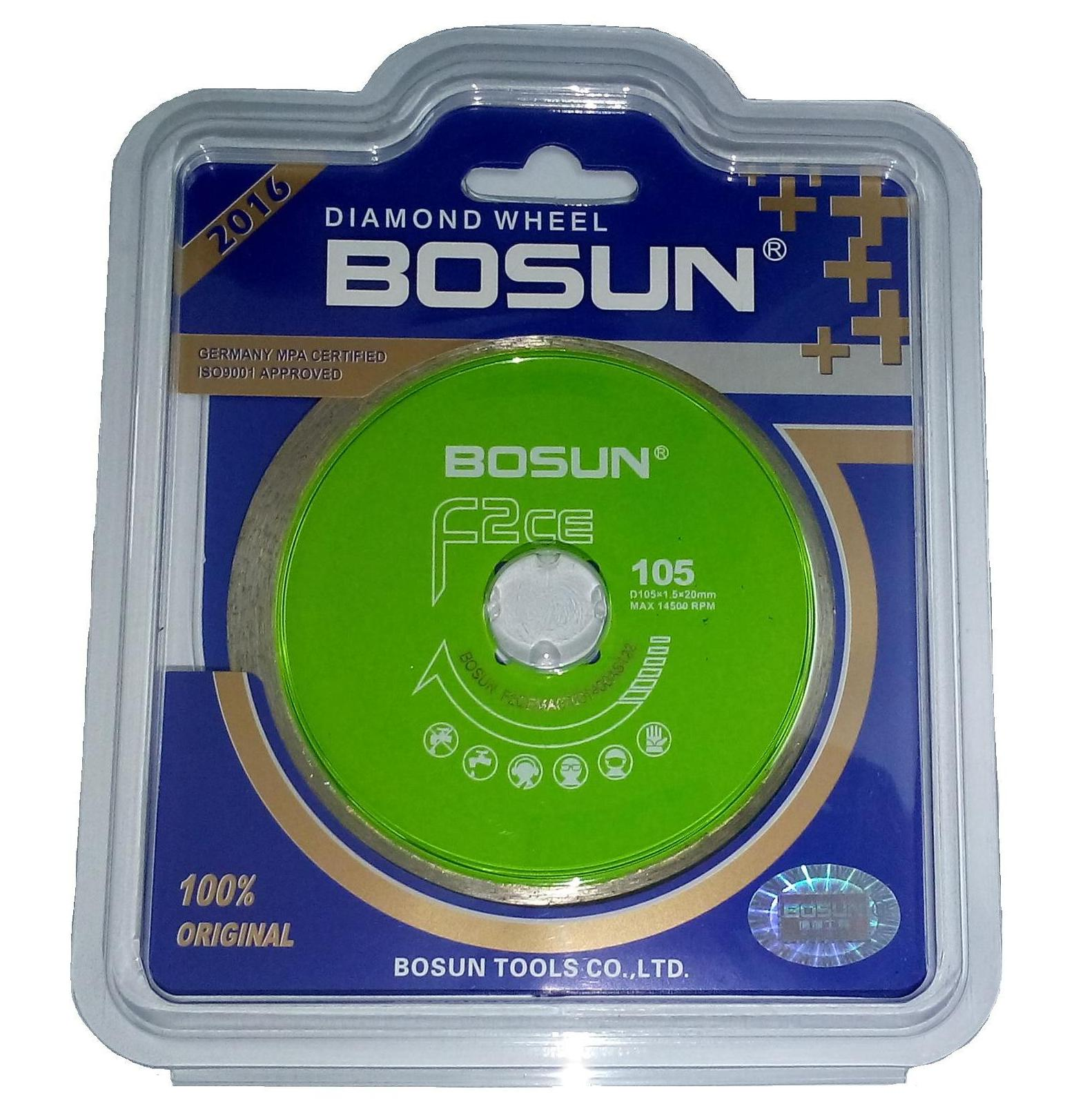 Lưỡi cắt F2CE Bosun (105x10x20mm)