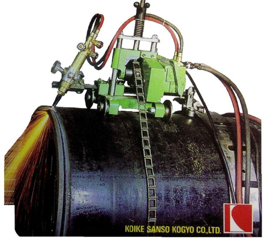 Máy cắt Oxy-Gas KOIKE auto picles